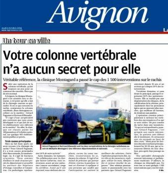 La Provence 06 octobre 2016