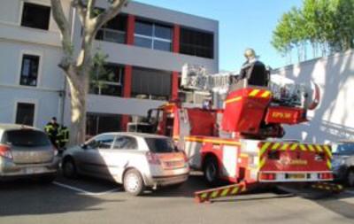 Incendie sans gravité à la Clinique Montagard